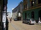 Chátrající kino Varšava v Liberci. Kdysi patřilo mezi nejstarší kina v celém