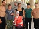 Jitka Čvančarová, Liběna Rochová a DaeMen uspořádali akci pro DebRU, která pomáhá lidem bojujícím s nemocí motýlích křídel.