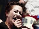 Amanda Palmer na festivalu Rock for People (2. července 2013)