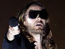 Hollywoodský herec Jared Leto se na Rock for People představil jako zpěvák...