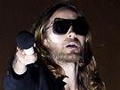 Hollywoodsk� herec Jared Leto se na Rock for People p�edstavil jako zp�v�k...