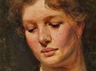 František Kupka, Portrét mladé ženy, počátek 20. století
