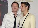 Neil Patrick Harris a David Burtka (29. června 2013)