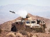 Americká protitanková řízená střela Javelin