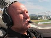 Jiří Pruša, bloger iDNES.cz a pilot malého letadla