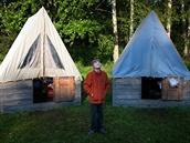 Letní tábory, tábor, skaut, adrenalin, stanování, příroda, samostatné obrazem