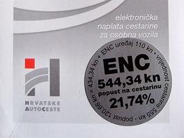 Předplacené mýto ENC
