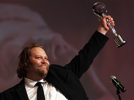 Ólafur Darri Ólafsson s cenou ze 48. ročníku filmového festivalu v Karlových