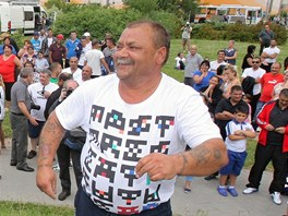 Romové akci pojali jako kulturně-společenské setkání při které se i tancovalo.