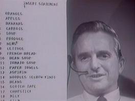 Douglas Engelbart předvedl v roce 1968 práci se seznamem položek. Dnes to není...