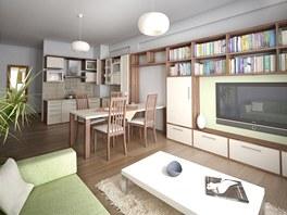Vnitřní vybavení bytů by mělo být poměrně luxusní.