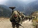 Ameri�t� voj�ci v afgh�nsk� provincii Kunar