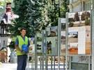 Jedna z výstav o Kyselce - Má vlast cestami proměn 2013. K vidění je v