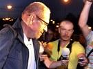 Bývalý poslanec Ivan Fuksa (ODS) 16. července před 22:00 opustil ostravskou