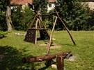 V obci Zápy je i nové dětské hřiště