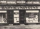 Barvič a Novotný byl první český obchod v Brně.