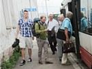 Výluka vlaků v Brně, první všední den