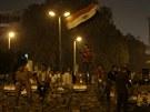 Desetitisíce stoupenců Mursího vyšly v noci na sobotu do ulic Káhiry (13....