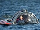 Vladimir Putin absolvoval ponor k potopené ruské fregatě (15. července)