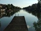 Průplav Odra - Dunaj - úsek vybudovaný v letech 1939-1943 nedaleko Vídně.