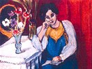 """Henri Matisse: """"la Liseuse en Blanc et Jaune"""" (1919)"""