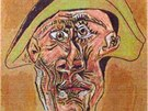 Pablo Picasso: �Tete d�Arlequin� (1971)
