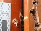 Gang zlodějů vyvrtával otvory v oknech a dveřích novostaveb.