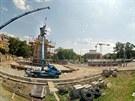 Pomník osvobození Brna na konci 2. světové války se do středu města vrátil po...