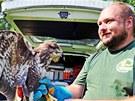 Vypouštění zachráněných ptáků z Pasíček u rybníka Nový na Pardubicku.