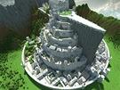Z kostiček vyrostlo i opevněné město Minas Tirith z Pána prstenů. Zajímavé je,...