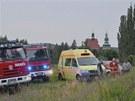 Nezkušenou lezkyni zachraňovali hasiči v Horním Slavkově z pětadvaceti metrové