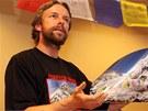 Pavel Bém - horolezec: po návratu z Mount Everestu v roce 2007.
