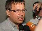 Exposlanec Petr Tluchoř vyšel z vězení v úterý 16. července ve 23 hodin.