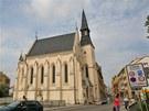 Kostel Svat� rodiny na Senov�n�m n�m�st� v �esk�ch Bud�jovic�ch.