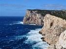 Capo Caccia, západní pobřeží