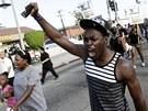 V ulicicíh velkých měst USA pochodovali lidé, kteří protestovali proti