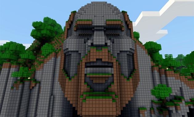 """Temple of Notch je chrám zasv�cený tv�rci Minecraftu, kterým je Markus """"Notch""""..."""