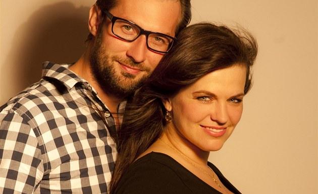 T�hotná Marta Jandová a její partner Miroslav Verner
