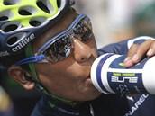 Kolumbijsk� cyklista Nairo Quintana