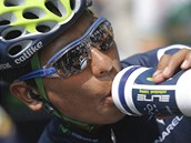Kolumbijský cyklista Nairo Quintana
