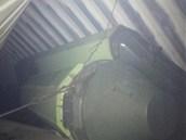 Panamský prezident Martinelli uveřejnil na Twitteru snímek se zbraněmi, které