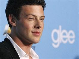 Herec Cory Monteith pózuje v Los Angeles před premiérou seriálu Glee. (7. září...