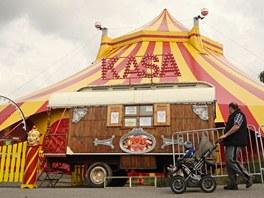 Národní cirkus Originál Berousek na turné v Havlíčkově Brodě.