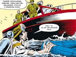 Z komiksu Indiana Jones - Další dobrodružství 3
