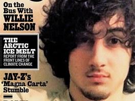 Obálka amerického hudebního magazínu. Stylizace do rockové hvězdy mnoho lidí
