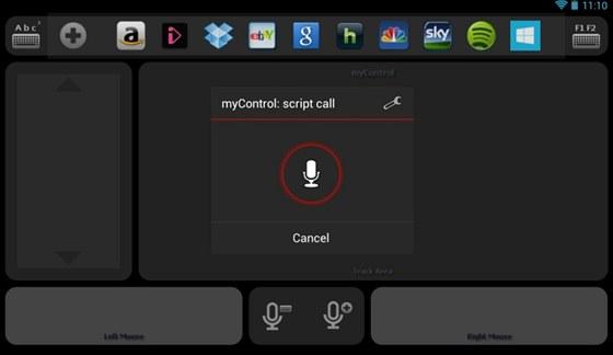 Aplikace my Control um� ovl�dat po��ta� s�Windows nebo s�Linuxem, k�dispozici...