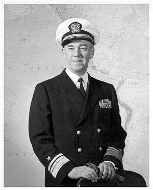 Oficiální portrét kapitána Bectona