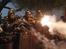 Papežovu návštěvu Brazílie provází protesty proti nákladům na akci (22....