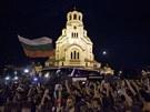 Protesty před bulharským parlamentem (23. července 2013)