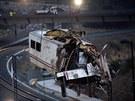 N�sledky nehody vlaku u Santiaga de Compostela (24. �ervence 2013)